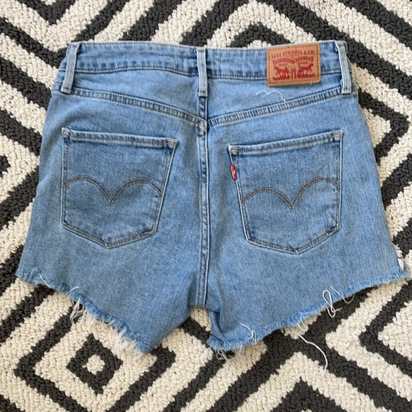 Vintage Levi's cutoff Jean shorts